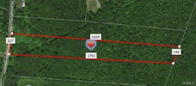Sullivan County Residential Lots & Land For Sale: Old Lily Pond Road