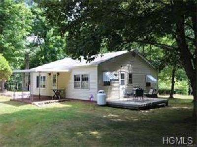 Forestburgh Single Family Home For Sale: 77 Burns Road