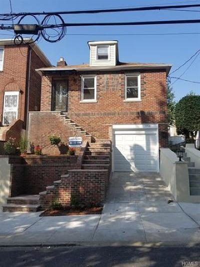 Bronx NY Single Family Home For Sale: $535,000