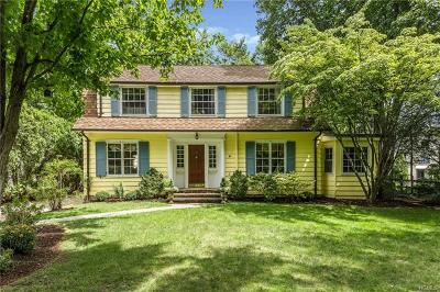 Bronxville Single Family Home For Sale: 11 Lee Place