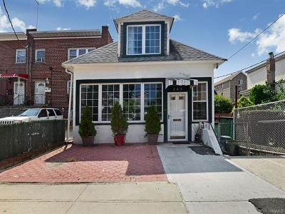 Bronx Single Family Home For Sale: 263 Robinson Avenue