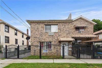 Bronx Multi Family 2-4 For Sale: 2931 Wickham Avenue