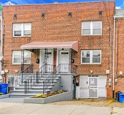 Bronx NY Multi Family 2-4 For Sale: $529,000