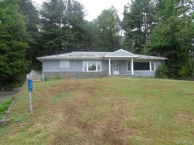 South Fallsburg NY Single Family Home For Sale: $69,900