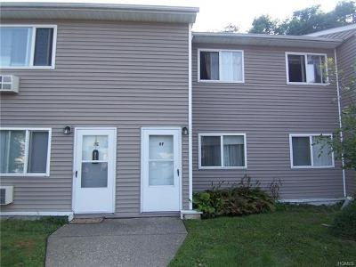 Fishkill Condo/Townhouse For Sale: 8 Fishkill Glen Drive #F