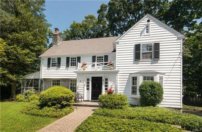 Westchester County Single Family Home For Sale: 220 Douglas Place