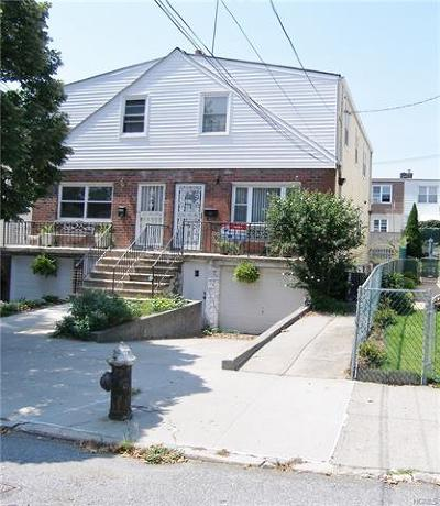 Bronx NY Single Family Home For Sale: $399,900