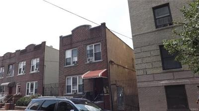 Bronx NY Multi Family 2-4 For Sale: $899,000