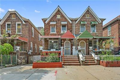 Bronx NY Single Family Home For Sale: $485,000