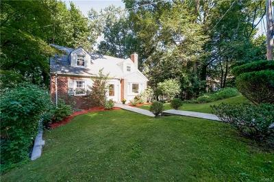 Hastings-On-Hudson Single Family Home For Sale: 111 Mendham Avenue