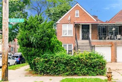 Bronx County Multi Family 2-4 For Sale: 1051 Pierce Avenue