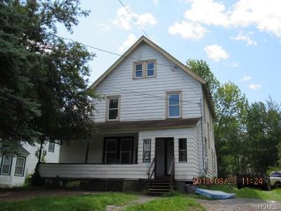 Liberty NY Single Family Home For Sale: $34,500