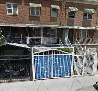 Bronx Single Family Home For Sale: 741 East 230th Street