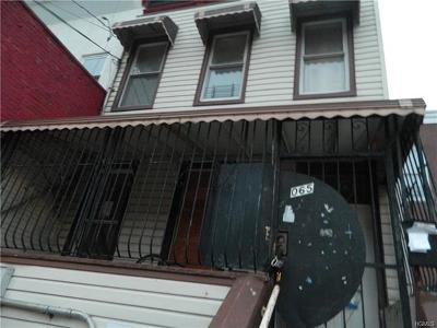 Bronx Multi Family 2-4 For Sale: 1065 Kelly Street