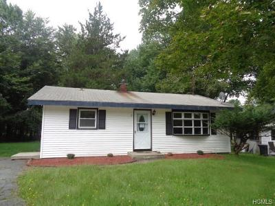 Monticello NY Single Family Home For Sale: $69,900