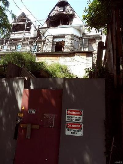 Bronx Residential Lots & Land For Sale: 977 Woodycrest Avenue