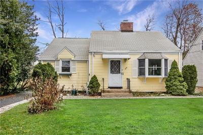 White Plains Single Family Home For Sale: 40 Cummings Avenue