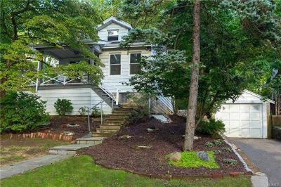 Dobbs Ferry Single Family Home For Sale: 110 Buena Vista Drive