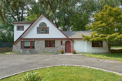 Chappaqua Single Family Home For Sale: 168 Bedford Road