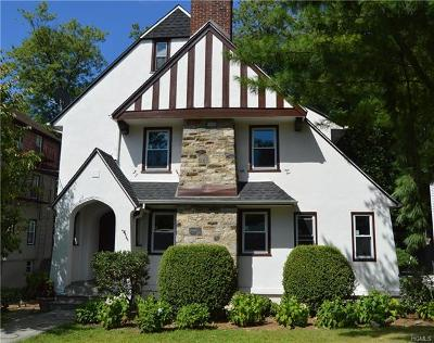Bronxville Single Family Home For Sale: 25 Parkway Road