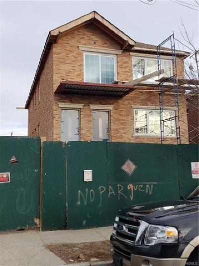 Bronx Multi Family 2-4 For Sale: 258 Buttrick Avenue