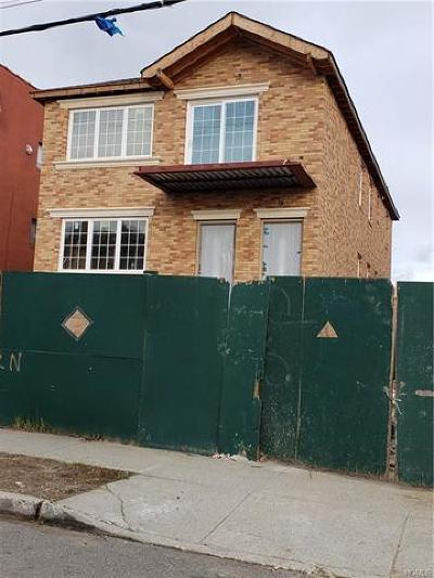 Bronx Multi Family 2-4 For Sale: 260 Buttrick Avenue