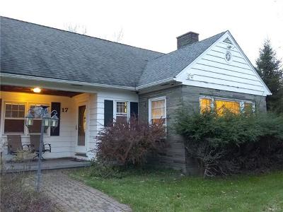 Monticello Single Family Home For Sale: 17 Hamilton Road