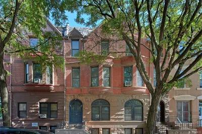New York Multi Family 2-4 For Sale: 311 West 138th Street