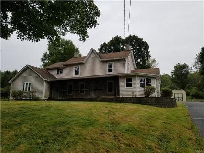 Washingtonville Single Family Home For Sale: 293 Toleman Road