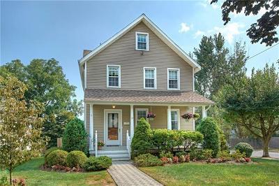 Port Chester Single Family Home For Sale: 121 Hobart Avenue