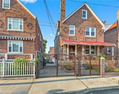 Bronx Multi Family 2-4 For Sale: 1215 Mace Avenue