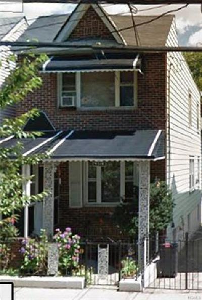 Bronx Single Family Home For Sale: 4318 De Reimer Avenue