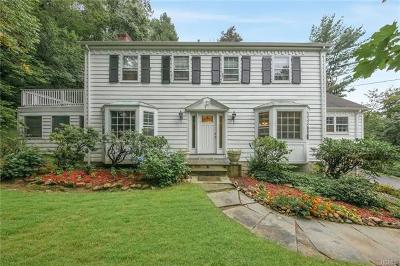 Chappaqua Single Family Home For Sale: 28 Cowdin Circle