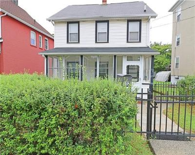 Peekskill Single Family Home For Sale: 112 Old Bay Street