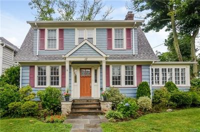 Larchmont Single Family Home For Sale: 12 Manor Lane