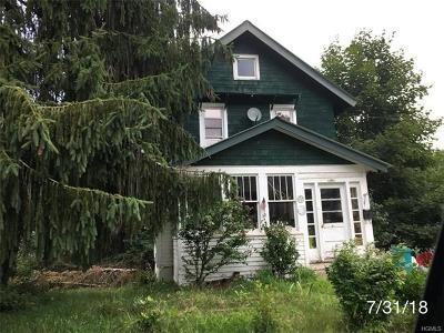 Liberty NY Single Family Home For Sale: $90,999