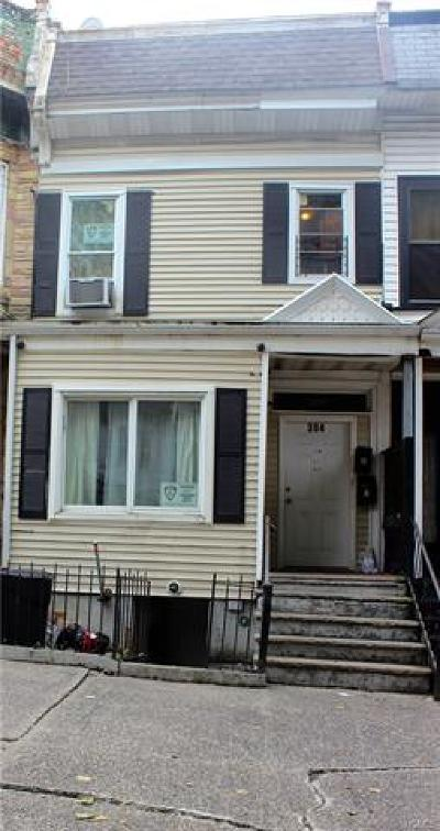 Bronx Multi Family 2-4 For Sale: 304 East 169th Street