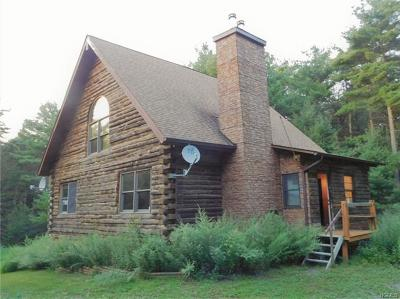 Wurtsboro Single Family Home For Sale: 38 Deer Hill Road