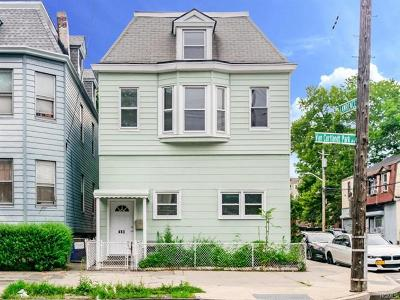 Yonkers Multi Family 2-4 For Sale: 483 Van Cortlandt Pk Avenue