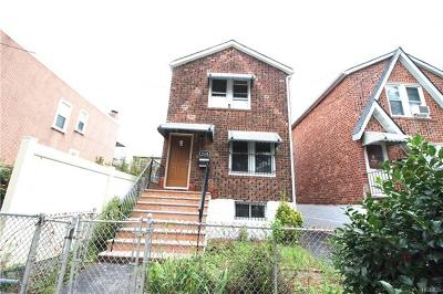 Bronx Single Family Home For Sale: 4124 De Reimer Avenue