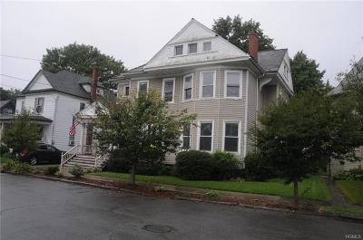 Port Jervis Single Family Home For Sale: 4 Elizabeth Street