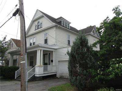 Port Jervis Single Family Home For Sale: 11 East Broome Street