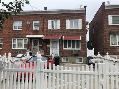 Bronx Single Family Home For Sale: 246 Brinsmade Avenue