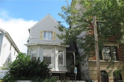 Yonkers Single Family Home For Sale: 160 Woodworth Avenue