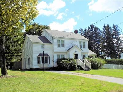 Liberty NY Single Family Home Sold: $149,000