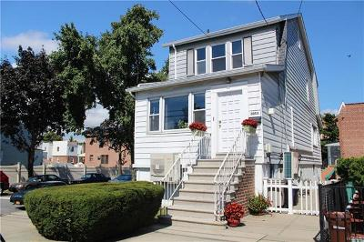 Bronx Single Family Home For Sale: 3053 Coddington Avenue