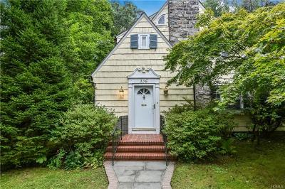 New Rochelle Single Family Home For Sale: 336 Lyncroft Road