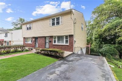 Yonkers Single Family Home For Sale: 1210 Saw Mill River Road #right si