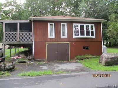 Glen Spey NY Single Family Home For Sale: $99,900
