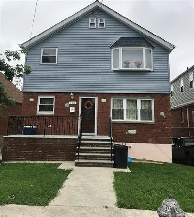 Bronx County Multi Family 2-4 For Sale: 931 Brinsmade Avenue